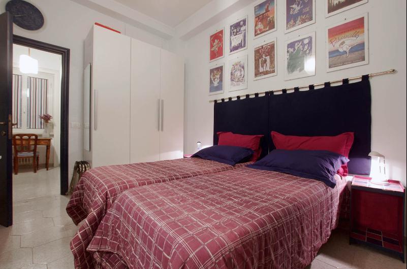 La camera con lettini singoli